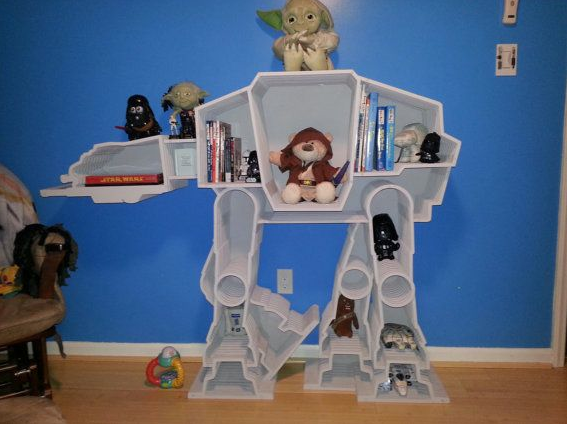 AT-AT bookcase