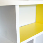 DIY Bookcase - Closeup
