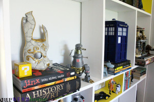 DIY Bookcase - Detail
