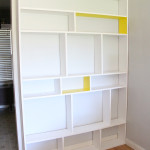 Simple DIY Built-In Bookcase