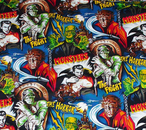 Classic Monster Fabric