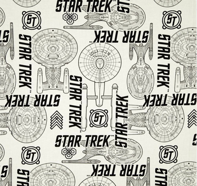 Star Trek Enterprise Fabric