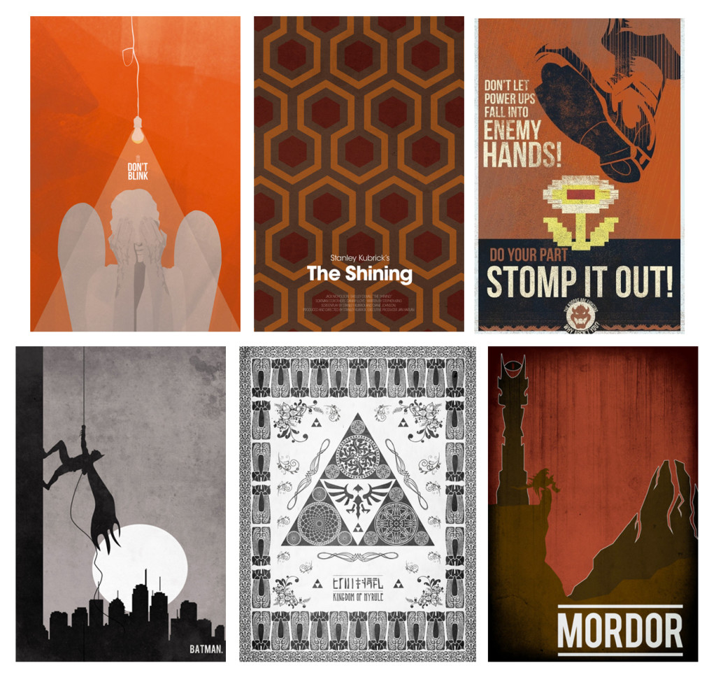 Geek Home Decor - Art Prints