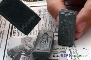 Han Solo in Carbonite DIY