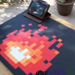 How to make a DIY 8-bit fire