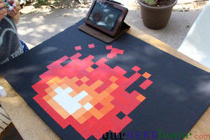 How to make 8-bit fire
