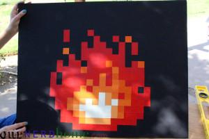 8-bit Fire DIY