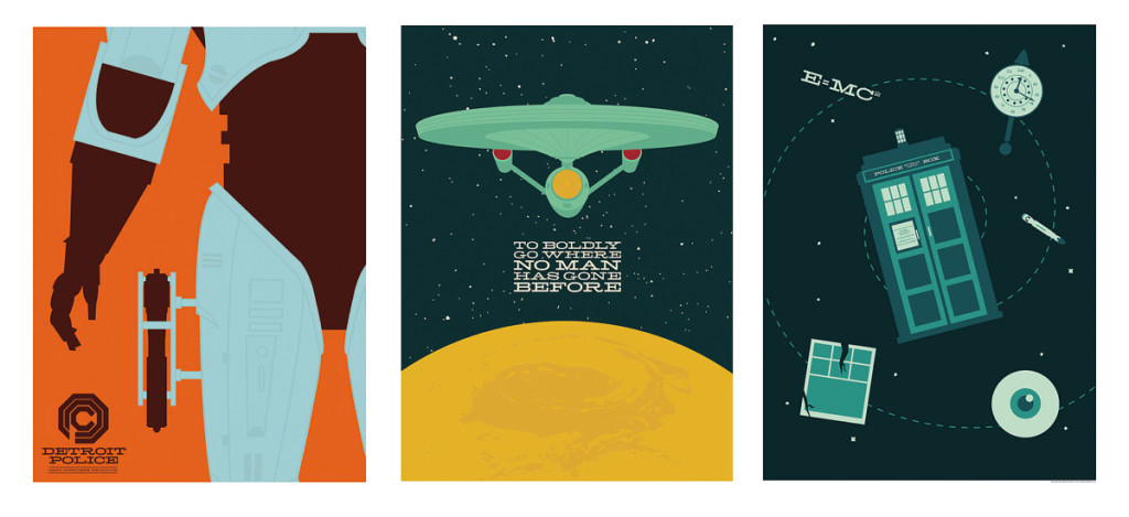 Geek Home Decor - Andrew Heath Art Prints