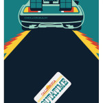 Back to the Future Art Print Poster