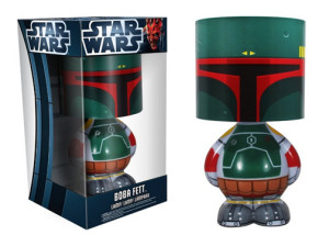 Geeky Home Decor - Boba Fett Star Wars Lamp