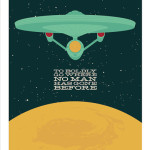 Geek Home Decor - Star Trek Art Print Poster