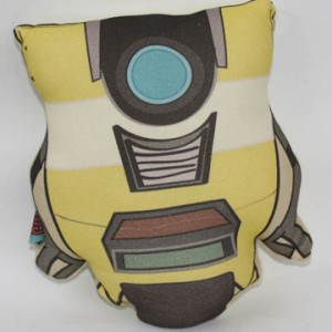 Gamer Home Decor - Claptrap Borderlands Pillow