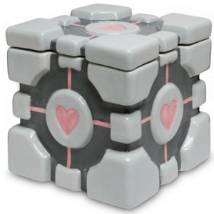 Gamer Home Decor - Portal Cookie Jar