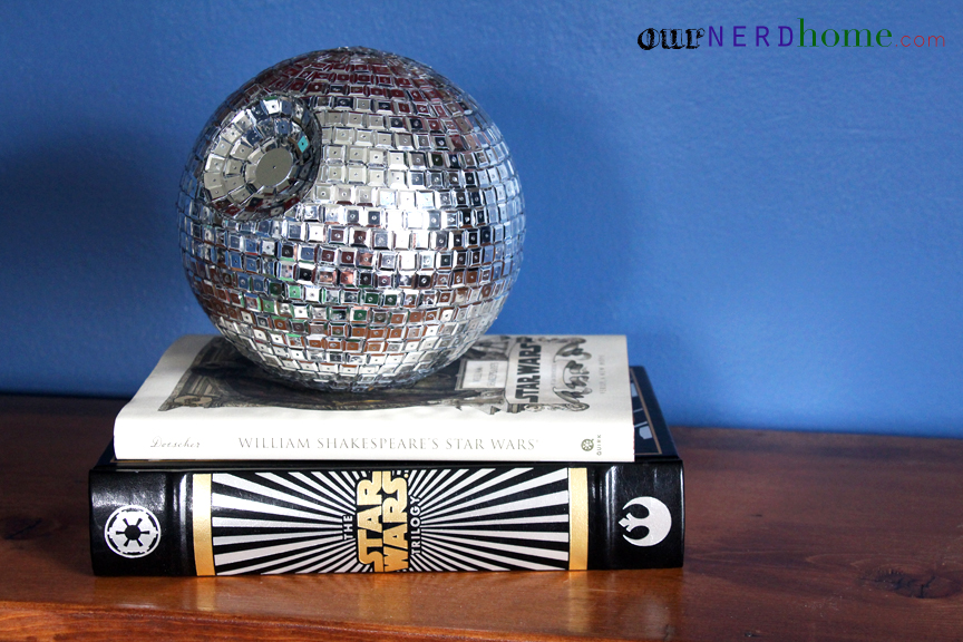 Geeky Home Decor / Nerd Crafts - DIY Death Star Disco Ball
