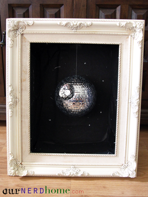 We Made a Super Easy DIY Disco Death Star