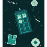 Geek Home Decor - Doctor Who Art Print Poster