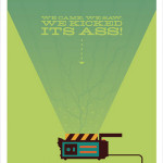 Ghostbusters Ghost Trap Art Print