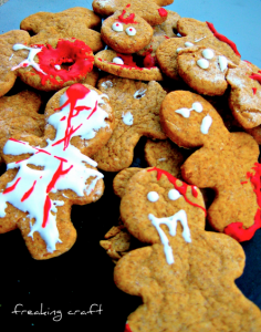 Walking Dead Cookies - Zombie Party Ideas