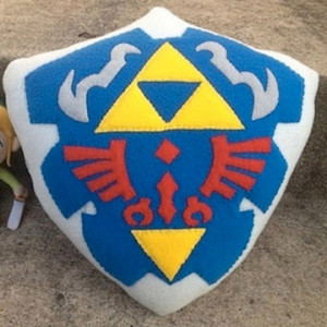 Gamer Home Decor - Zelda Pillow