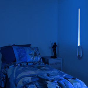 Geek Home Decor - Lightsaber Lamp