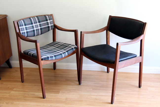 Midcentury Gunlocke Chair Makeover