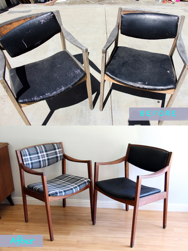 MCM Chairs - Before-After