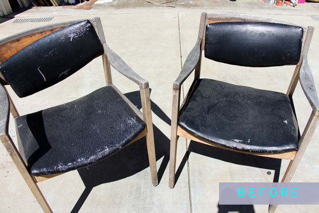 Midcentury Chair Makeover