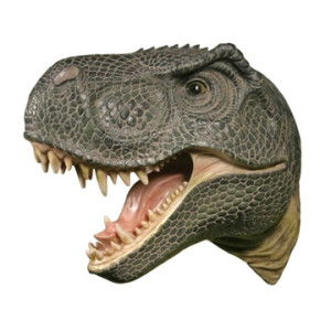 Geeky Home Decorating - T Rex Head