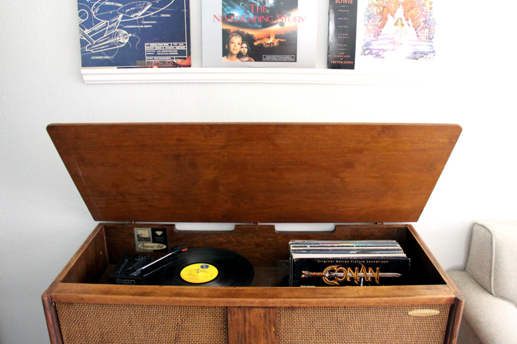 Really Easy Shelves to Display Records (spoiler: it's ...