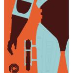 Robocop Art Print Poster
