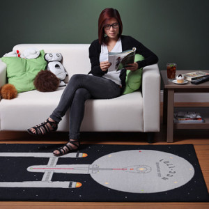 Geek Home - Star Trek Area Rug