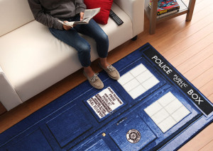 Geeky Decor - Doctor Who Tardis Rug