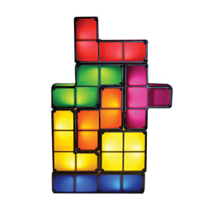 Geeky Home Decor - Tetris Lamp