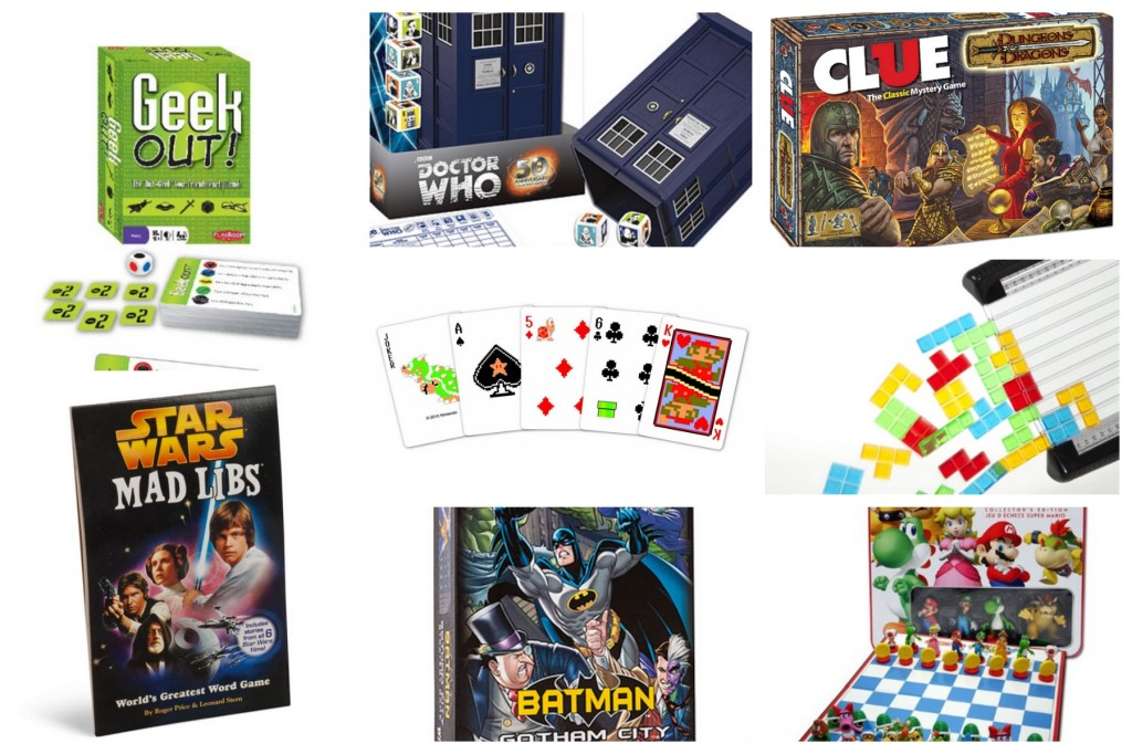 Geek Gift Guide: Board Games for Nerds
