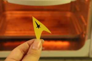 Star Trek DIY - Star Trek Jewelry - Shrinky Dink Necklace