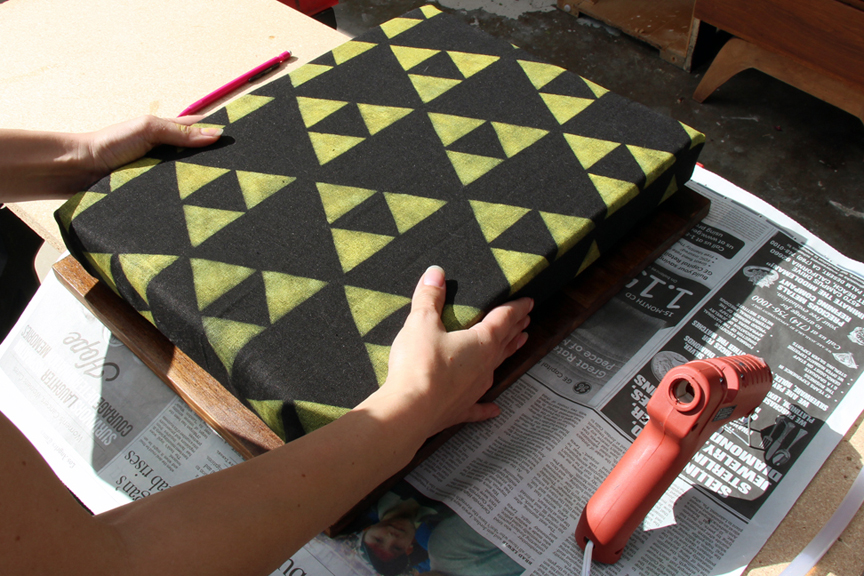 Geeky Gifts: DIY Lap Desk with Legend of Zelda Fabric