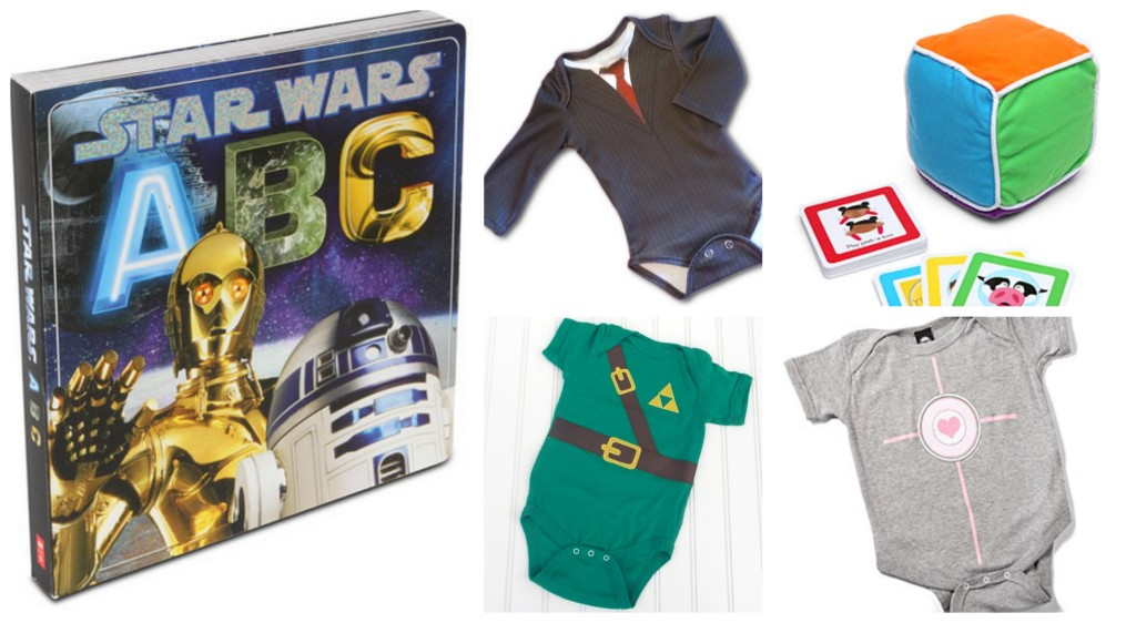 Geek Gift Guide: Geeky Baby Gifts