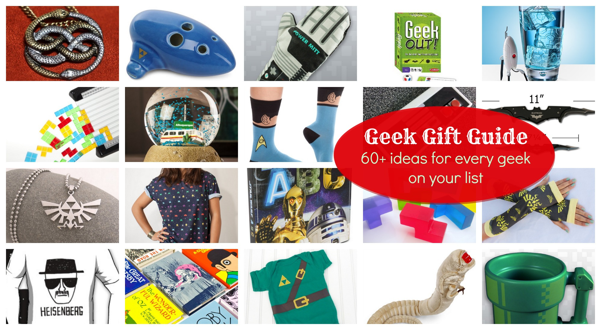 Geek Gifts: Doctor Who, Star Wars, Star Trek, Zelda, and more