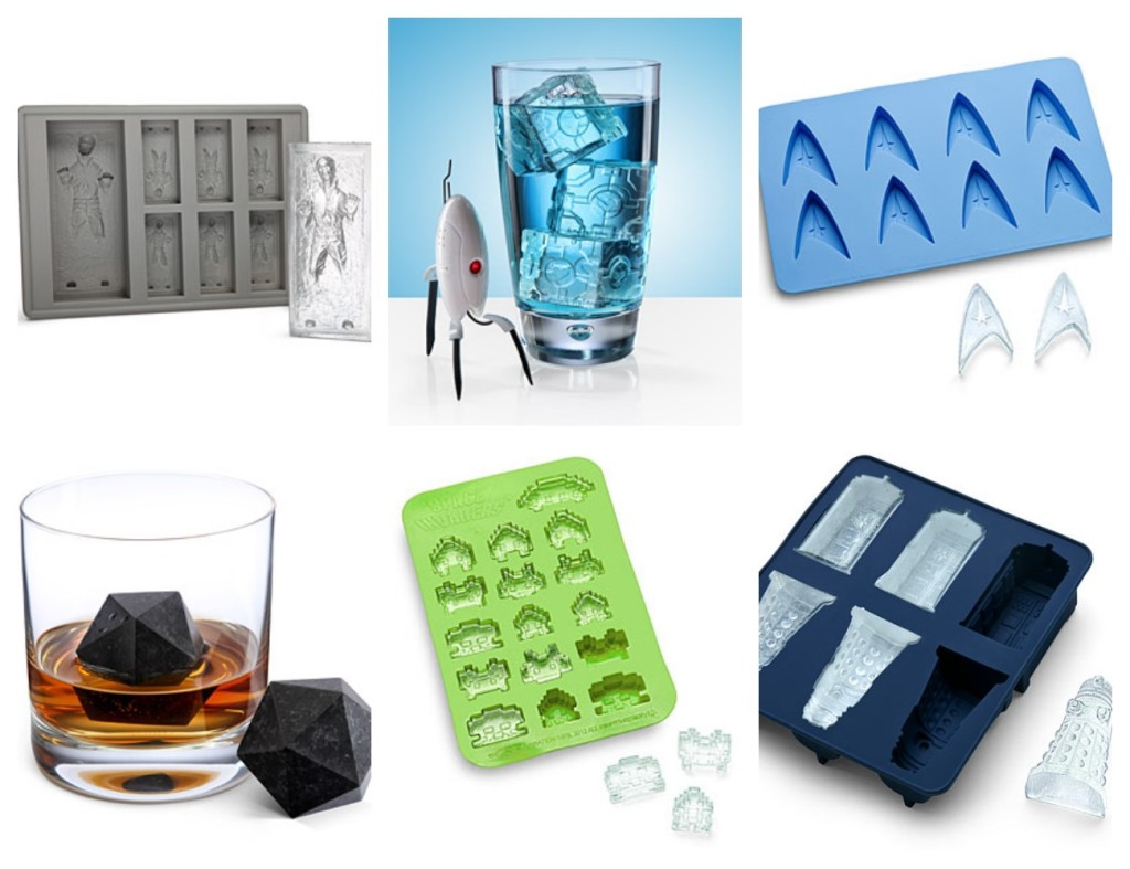 Geeky Ice Cube Trays