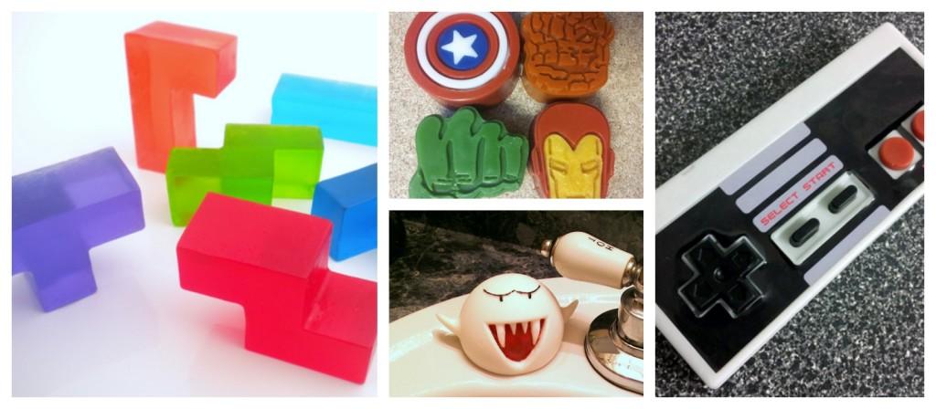 Geek Gift Guide: Geeky Soap