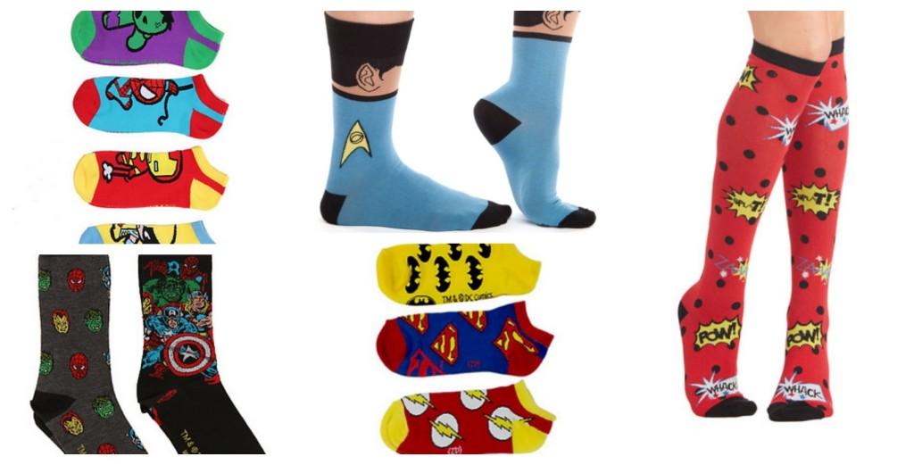 Geek Gift Guide: Geeky Socks