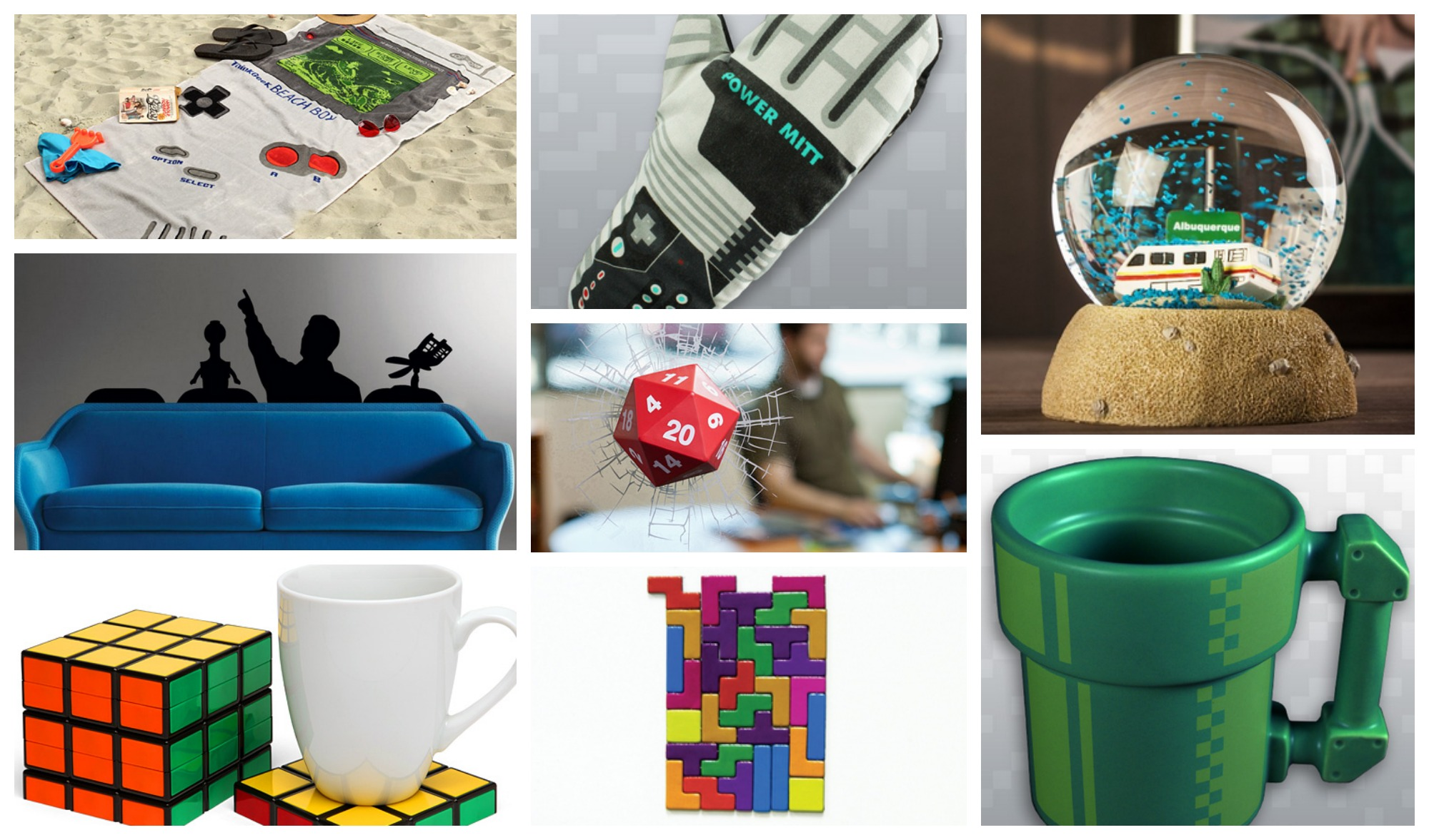Geek Gift Guide / Geeky Holiday gift ideas