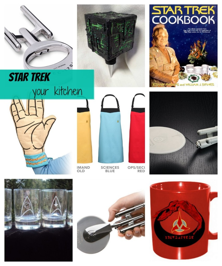 Geek Home Decor: Star Trek Kitchen