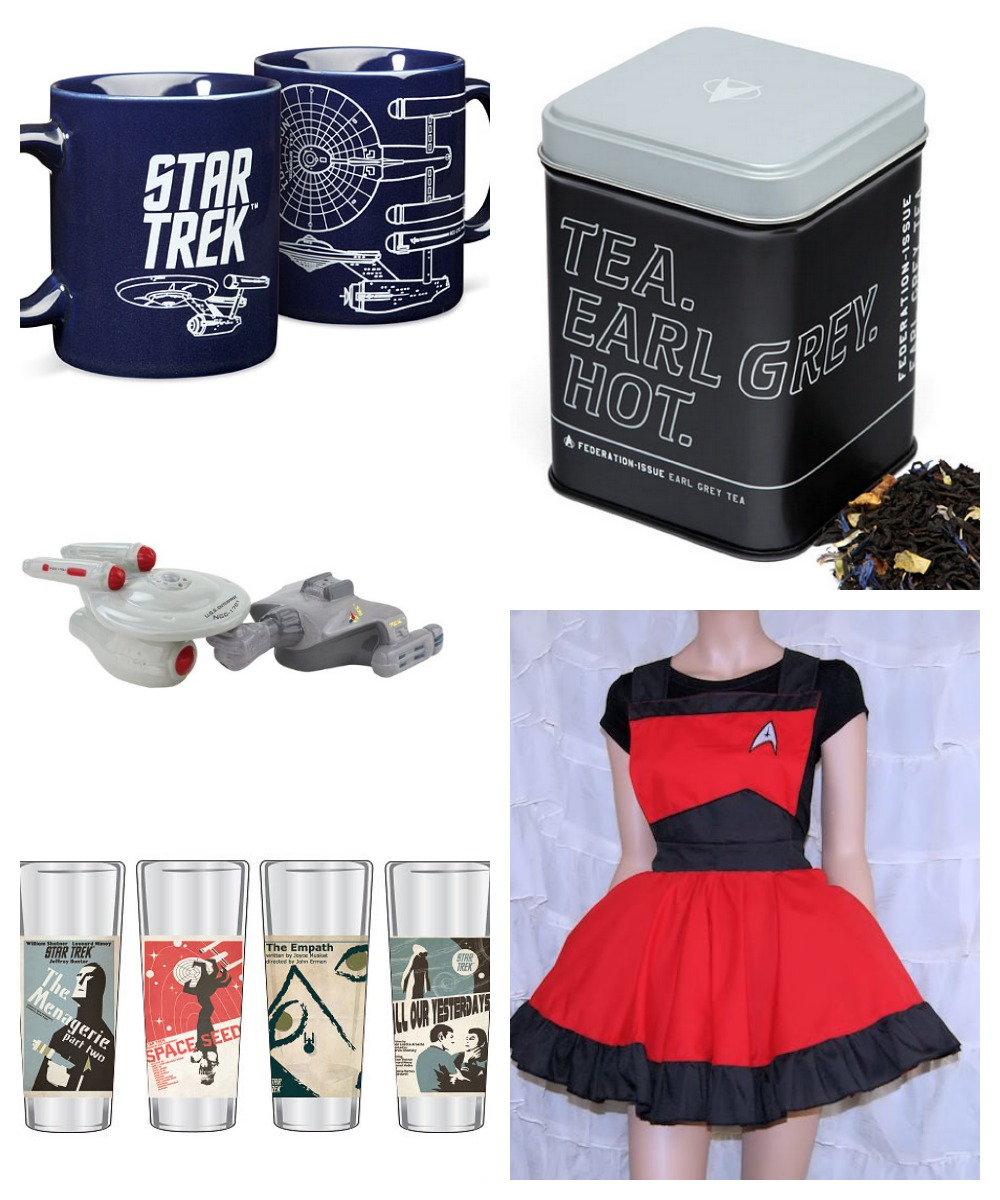 17 ways to star trek your kitchen our nerd home