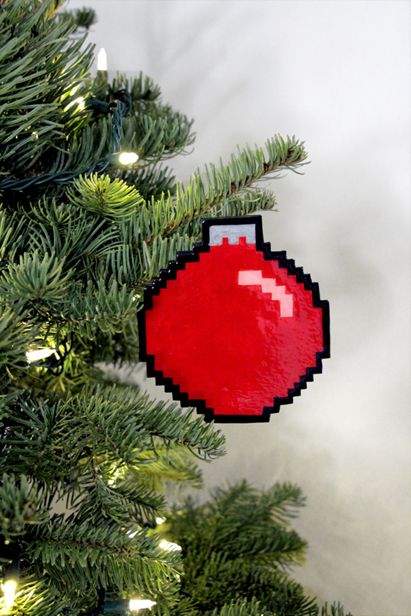 Geek Decor: DIY 8-Bit Ornament