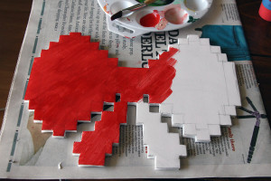 DIY 8-Bit Holiday Bow