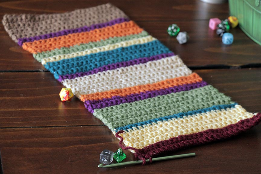 Doctor Who Infinity Scarf / Tom Baker Cowl Scarf