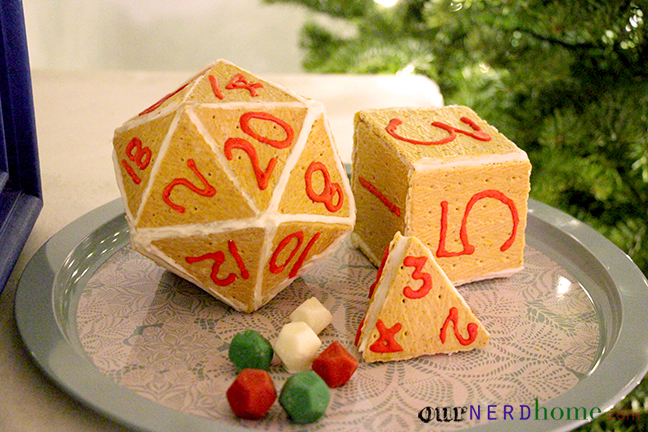 Geek Holiday: Gingerbread D20 / Gaming Dice