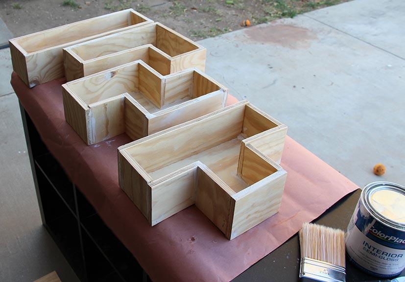 Geek Home DIY Tetris Shelves Our Nerd Home