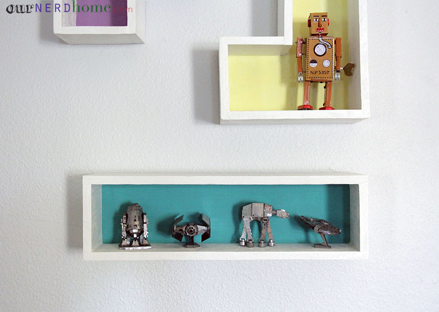 DIY Geeky Home Decor: Tetris Shelves And Star Wars